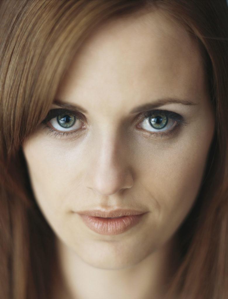 Woman, portrait, close-up